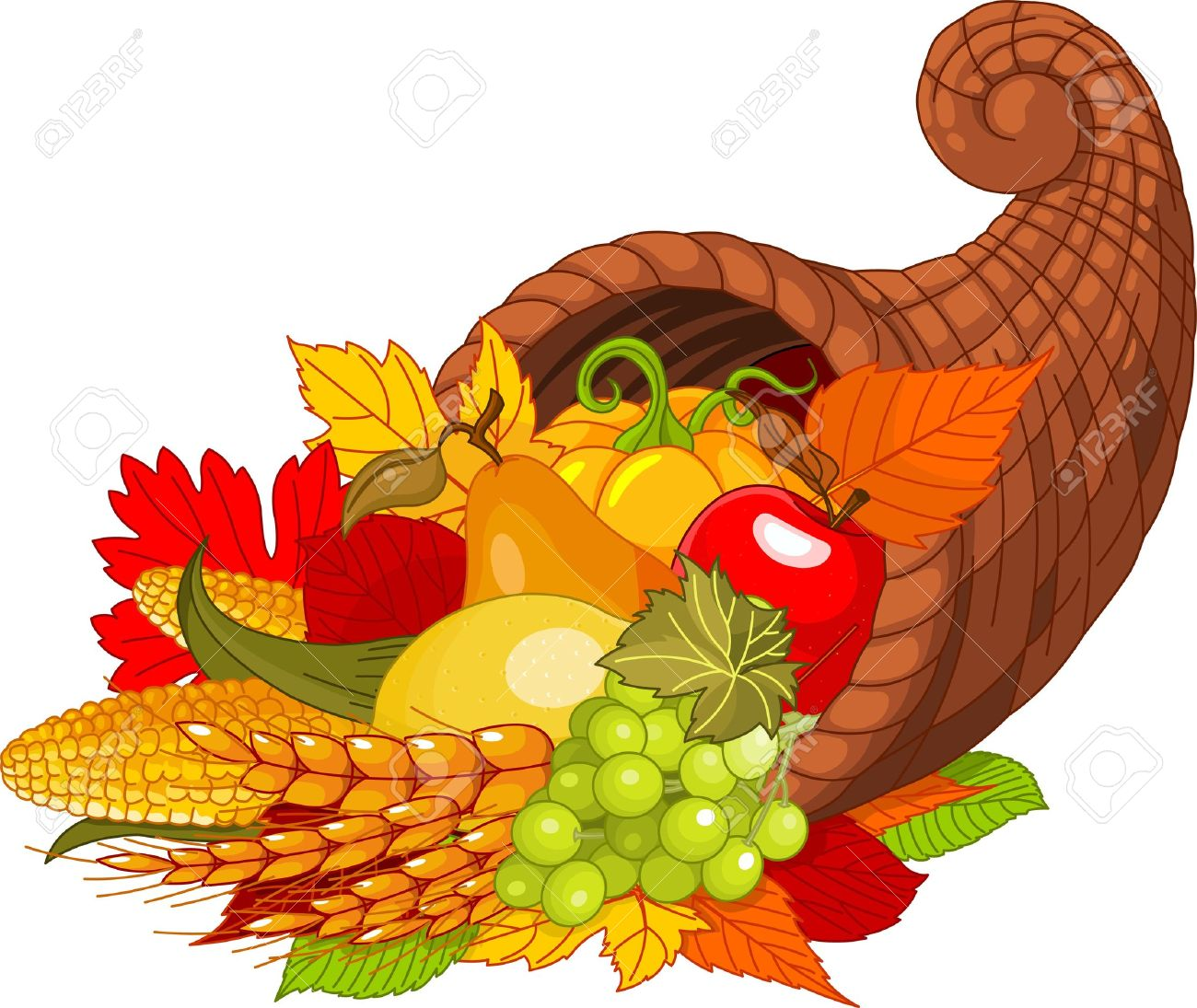 1 537 cornucopia stock illustrations cliparts and royalty free