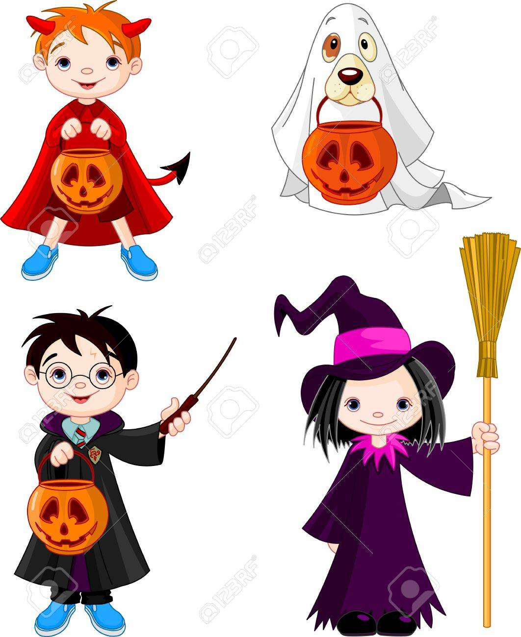 24,889 Halloween Costume Cliparts, Stock Vector And Royalty Free ...