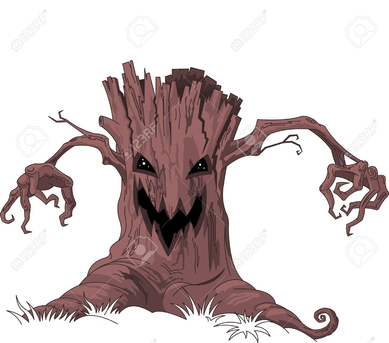 Science vector images over 84 600 vectorstock page 446 - Monster Tree Shakalabbits Rock Lyric Binary Biters Concept Art Reference Pinterest Monsters Art Object And Art