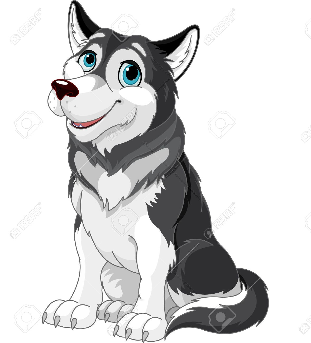 3,706 Husky Cliparts, Stock Vector And Royalty Free Husky ...