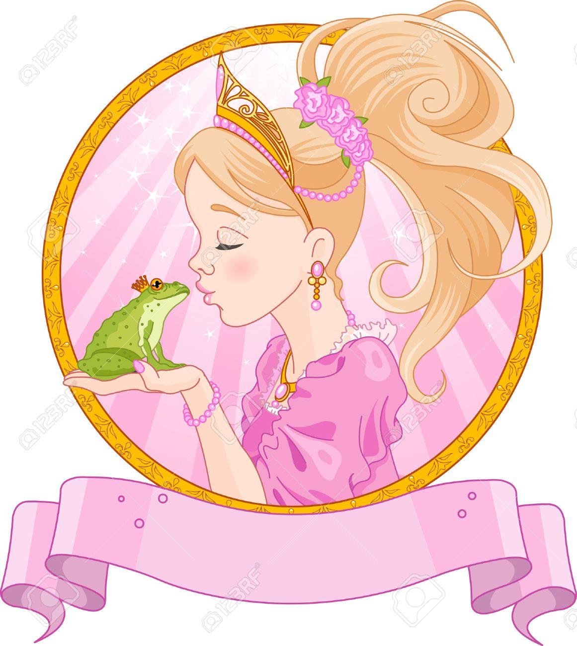 802 Princess Frog Cliparts, Stock Vector And Royalty Free Princess ...