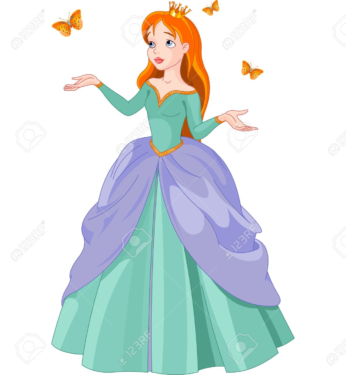 2,393 Princess Clipart Stock Illustrations, Cliparts And Royalty ...