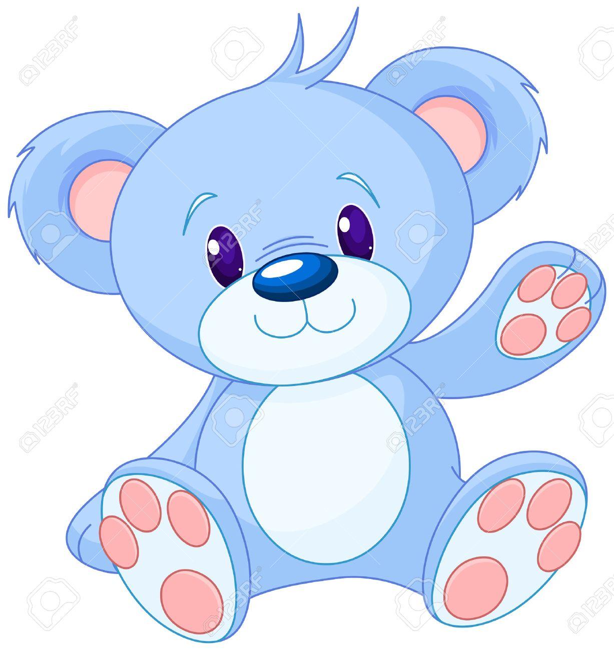 Illustration des ours en peluche mignon Banque d'images - 48171105