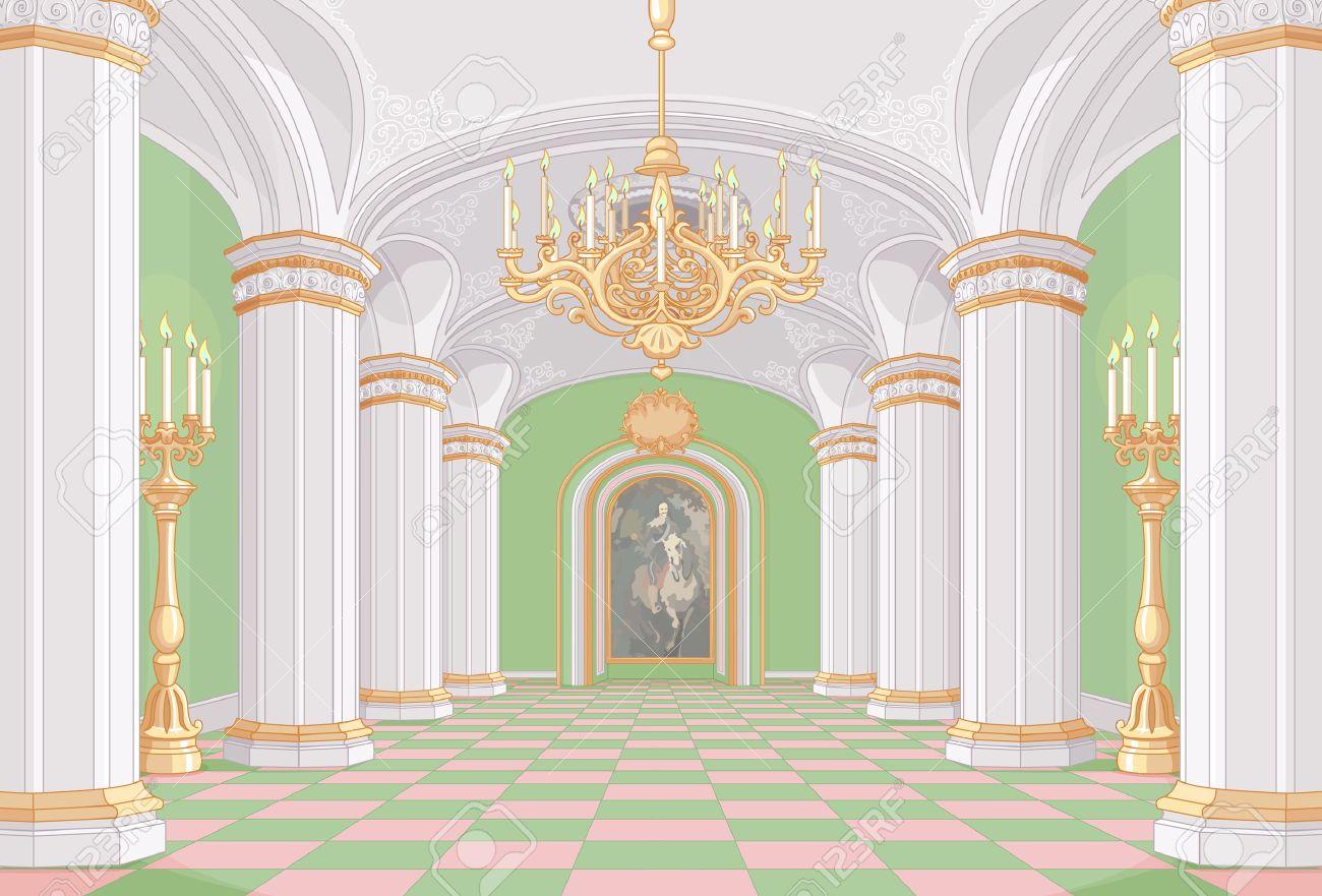 Illustration of Palace hall - 67828624