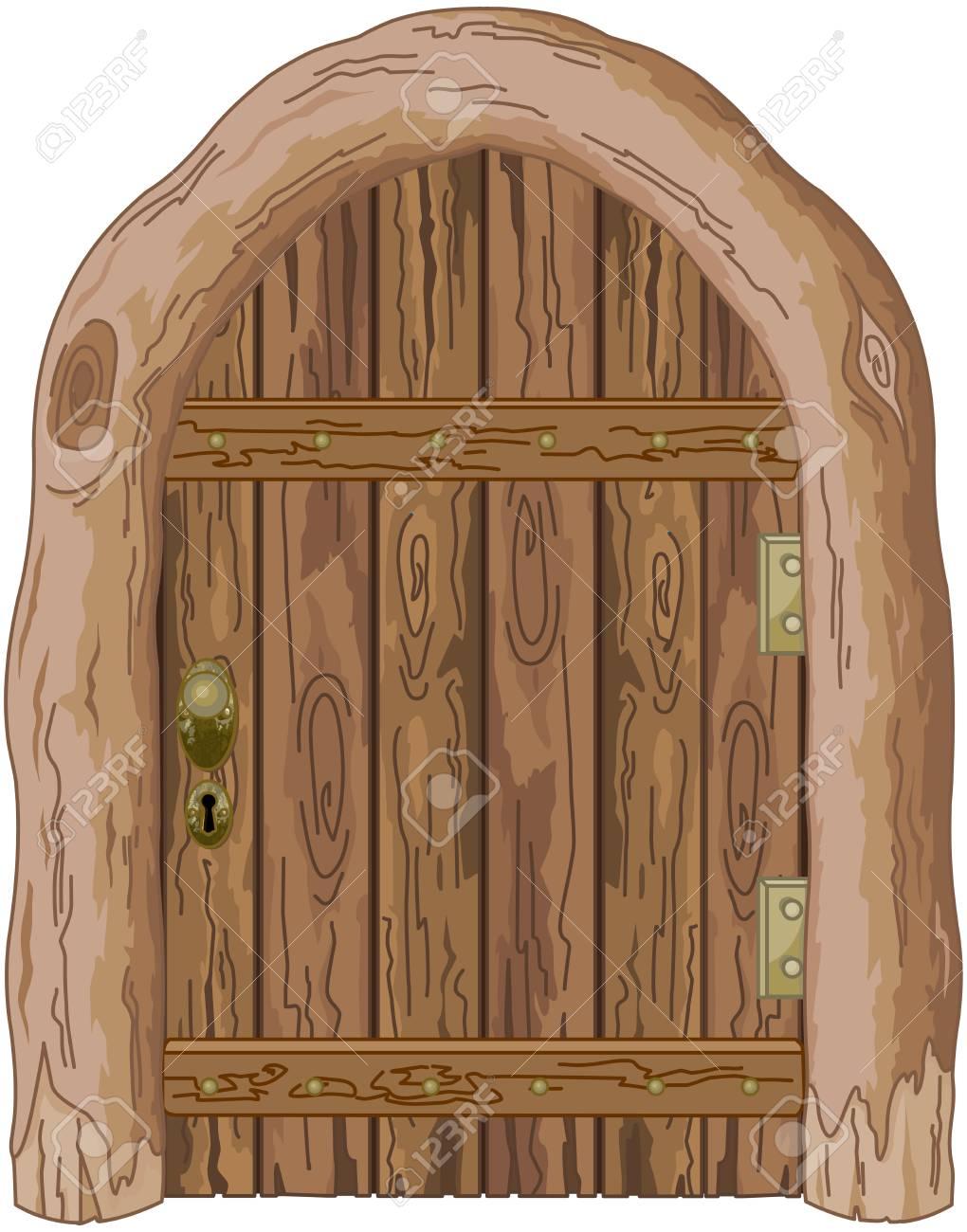 Illustration Of A Wooden Barn Door Royalty Free Cliparts Vectors