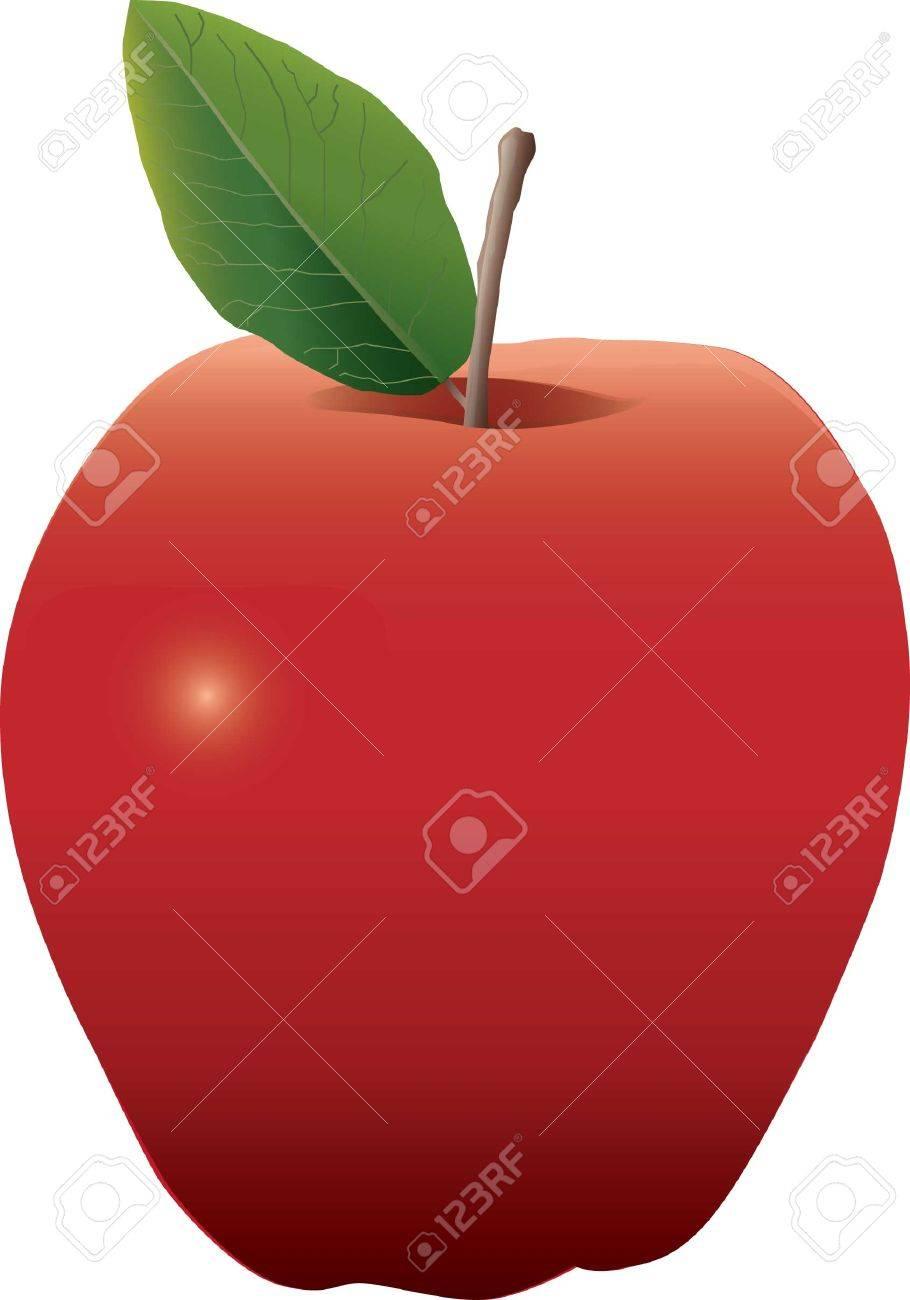 apple fruit drawing realistic. semi-realistic drawing of an apple stock vector - 3958481 fruit realistic i
