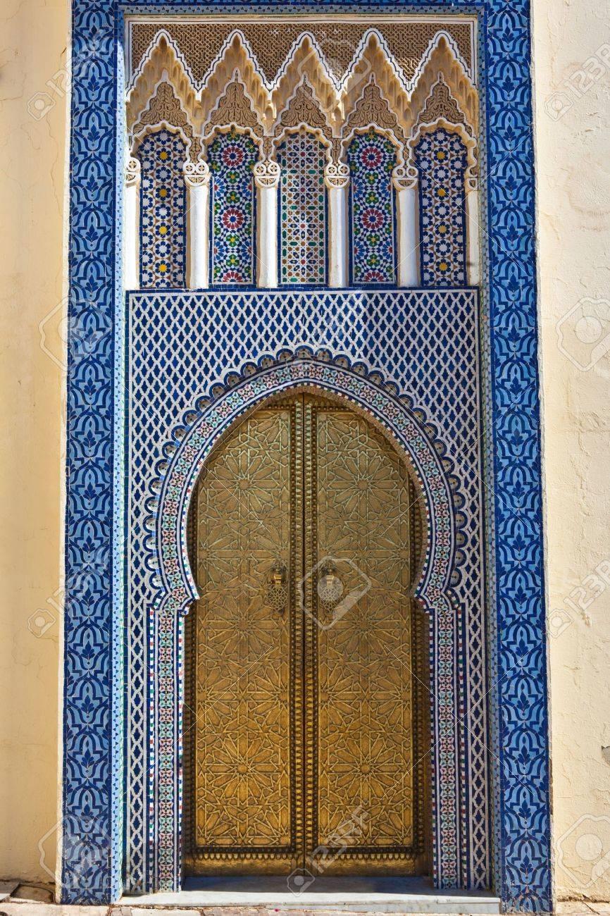 golden door knob: Old Golden Door of the Royal Palace in Fes Morocco. & Golden Door Knob Images \u0026 Stock Pictures. Royalty Free Golden Door ... Pezcame.Com