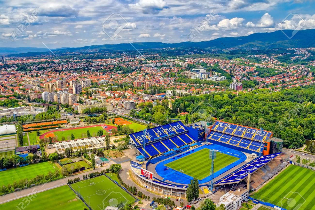 ZAGREB, CROATIA - MAY 26: Maksimir Stadium Is Official Field.. Stock Photo, Picture And Royalty Free Image. Image 21838029.