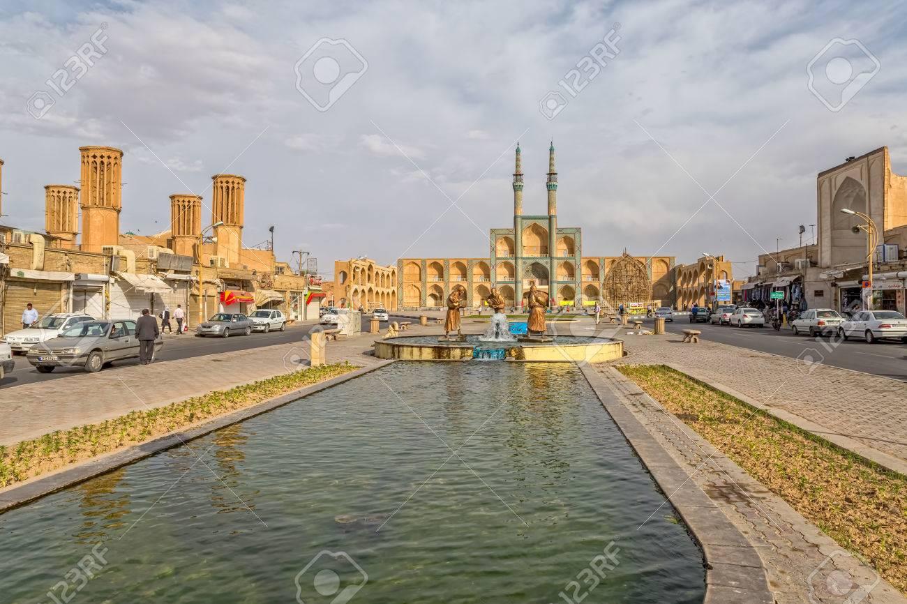 Image of: Image Stock Photo Three Old Travelers Statues In Yazd 123rfcom Three Old Travelers Statues In Yazd Stock Photo Picture And Royalty