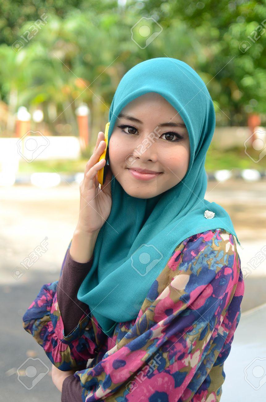 Asian head scarf