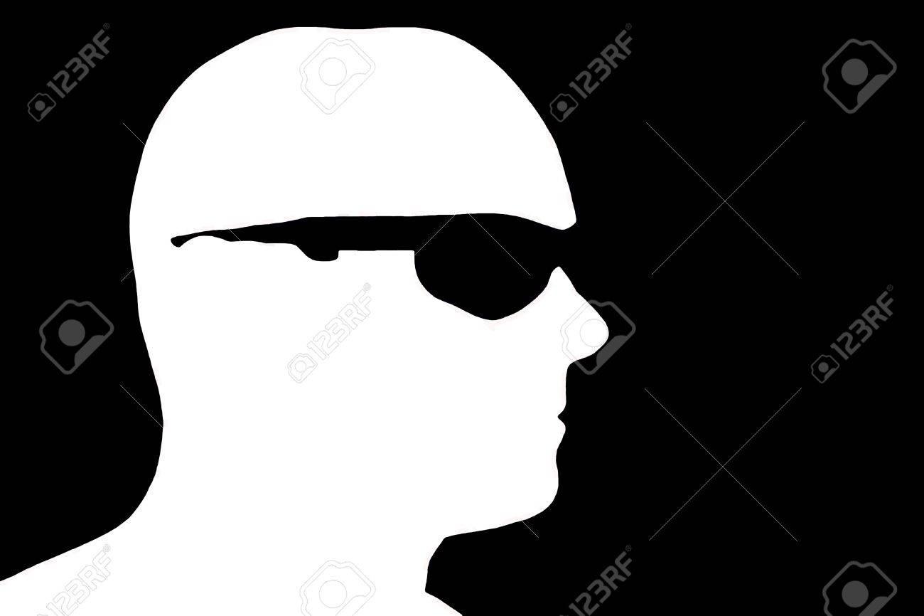 Facebook Profile Picture Silhouette Male