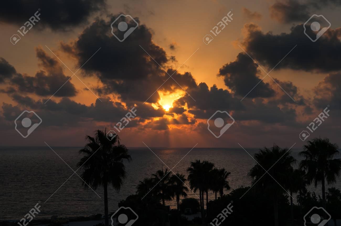 Evening sunset on the sea Stock Photo - 15759566