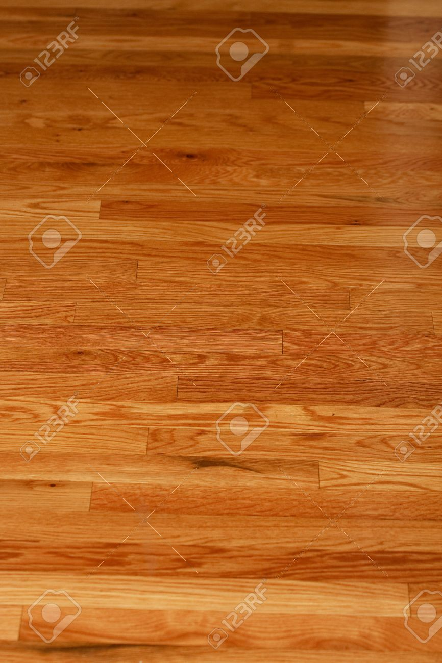 A highly polished hardwood floor in a home Stock Photo - 8982410