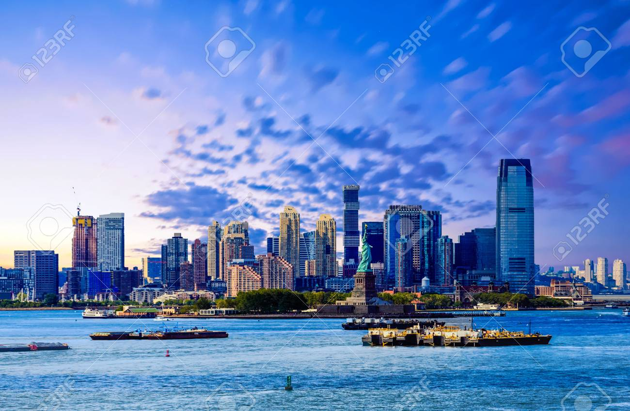New Jersey From New York Harbor