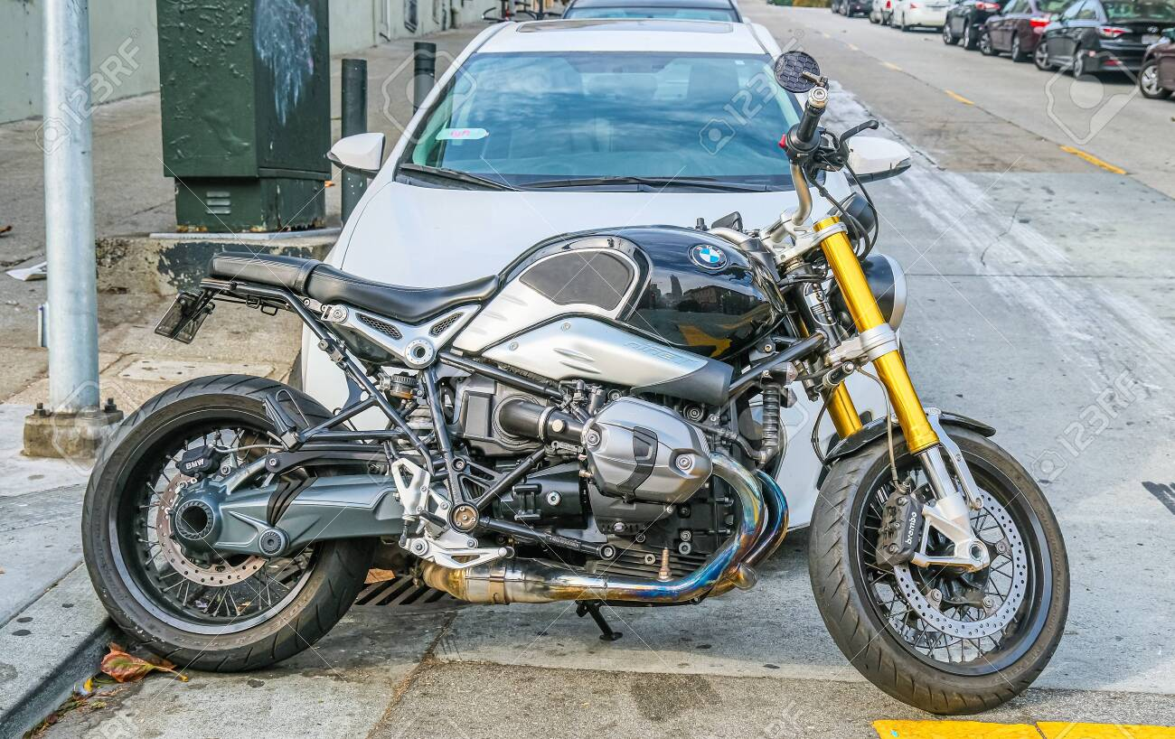 Bmw Motorcycle On Streets Of San Francisco Stock Photo Picture And Royalty Free Image Image 149029142