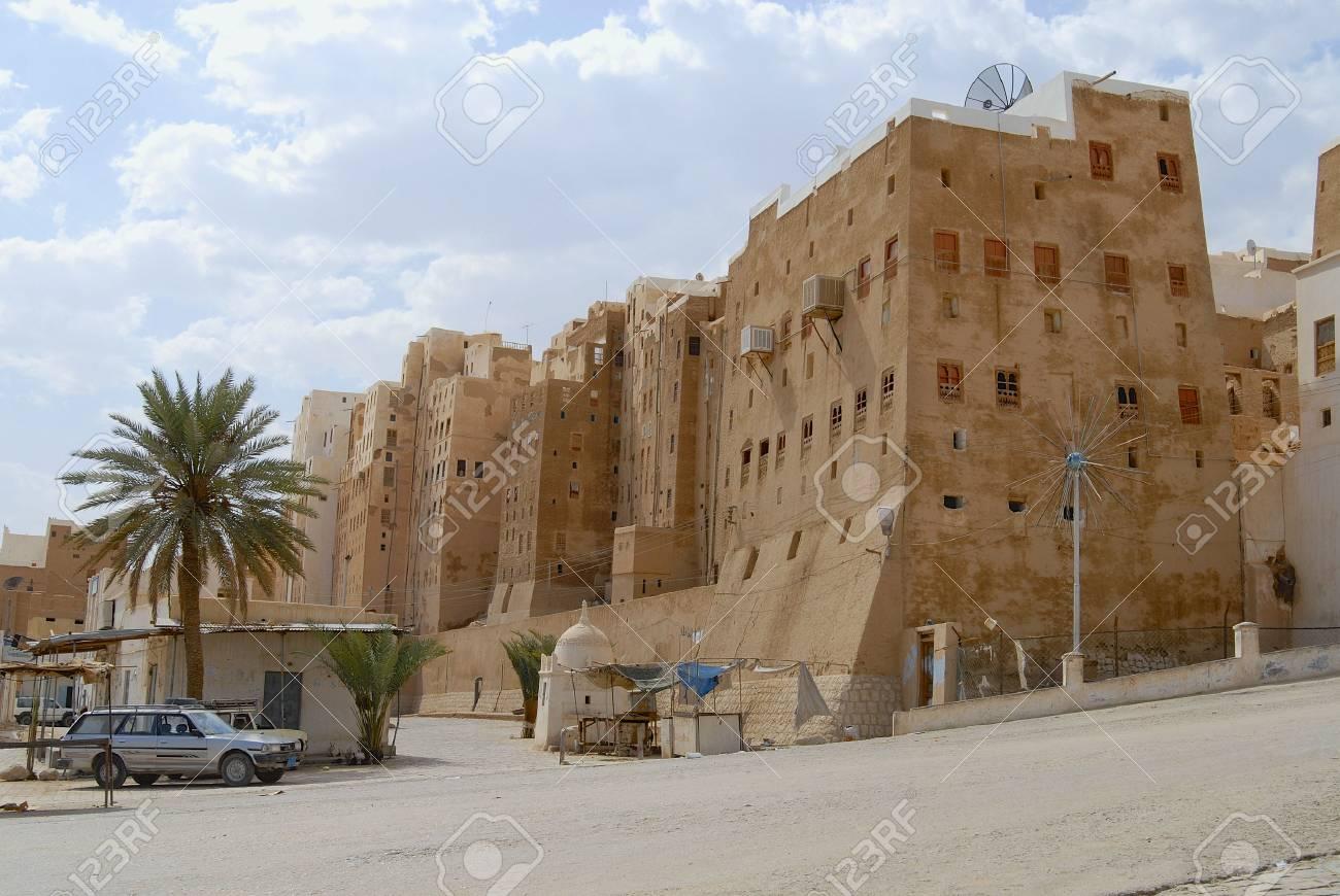 Case Di Mattoni Di Fango : Shibam yemen settembre l esterno delle case torri in