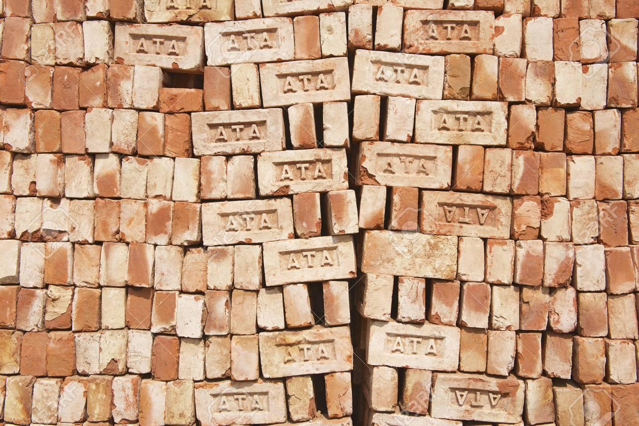 Bricks For Sale >> Dhaka Bangladesh February 19 2014 Stack Of Bricks For Sale