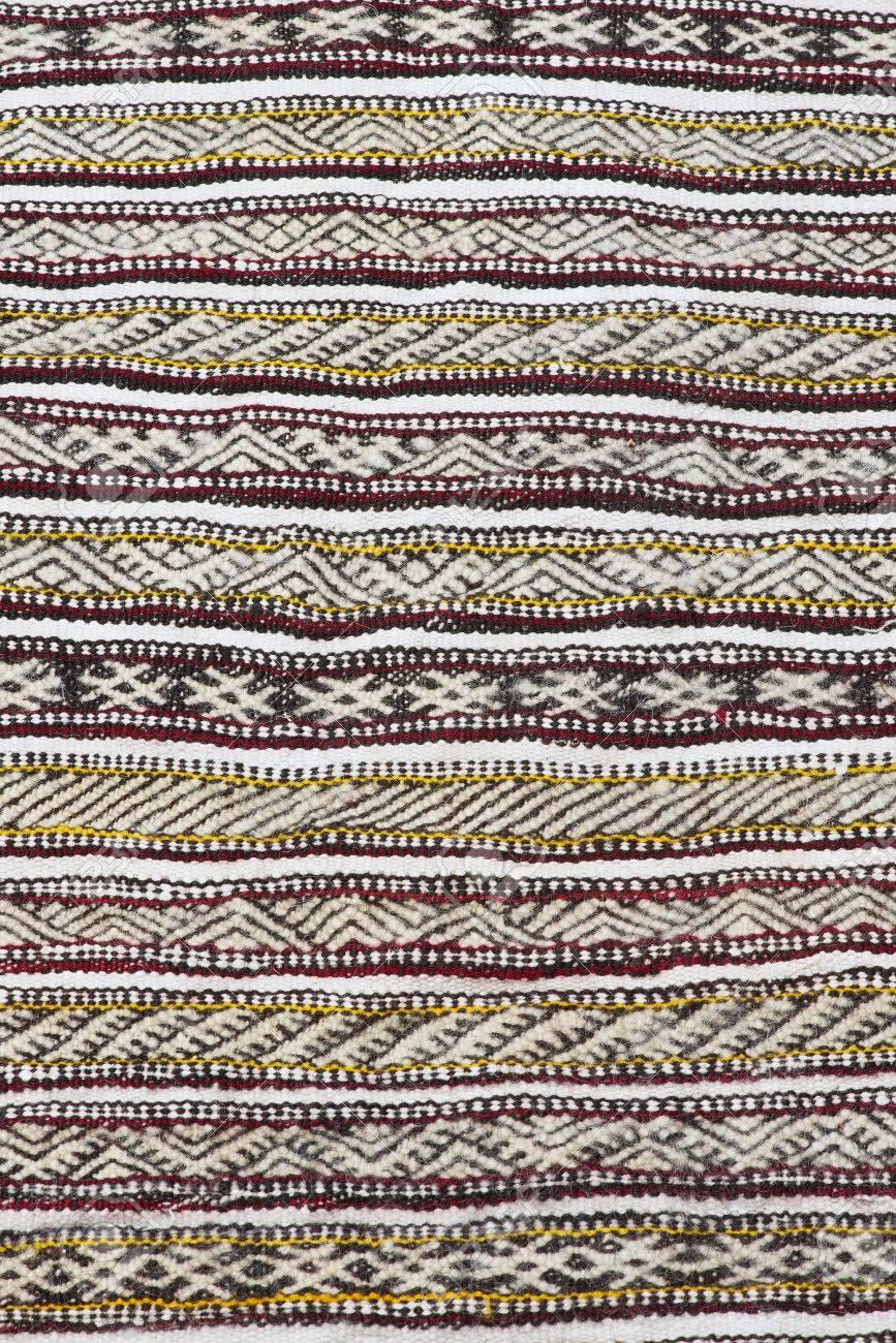 Berber teppich muster  Muster Eines Traditionellen Marokkanischen Berber Teppich ...