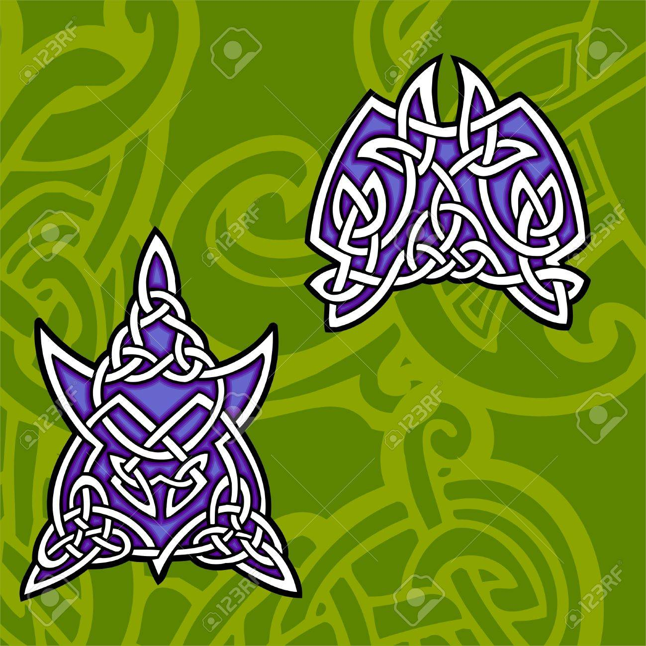 Celtic ornamental design. Illustration. Vinyl-Ready. Stock Vector - 8268934