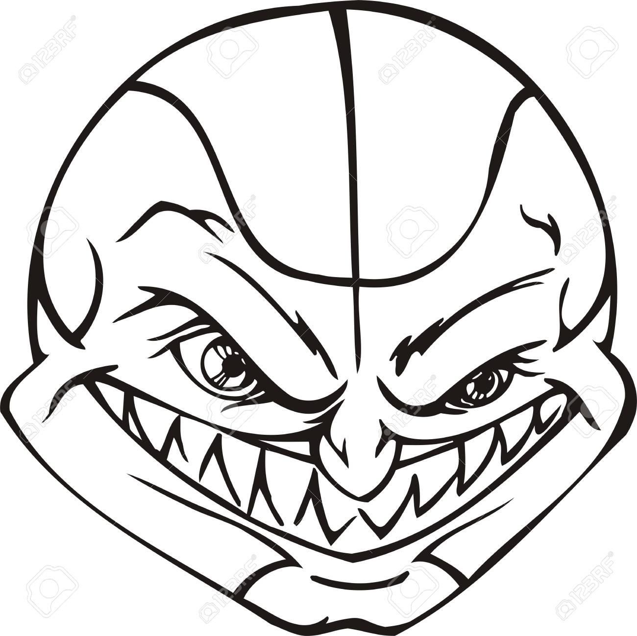 Mask Ball.Mascot Templates.Vector illustration ready for vinyl cutting. Stock Vector - 8594733