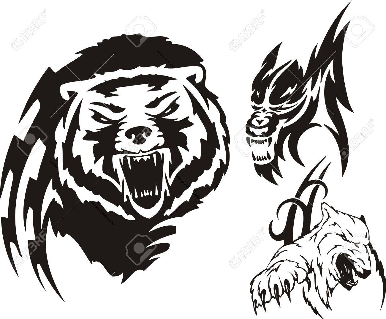Bear Emblem Cliparts, Stock Vector And Royalty Free Bear Emblem ...