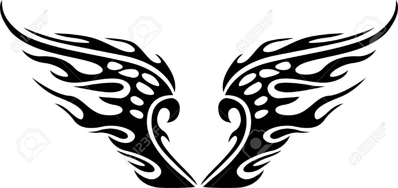 wings vector illustration ready for vinyl cutting royalty free rh 123rf com cut ready clipart Cut Ready Clip Art Frustration
