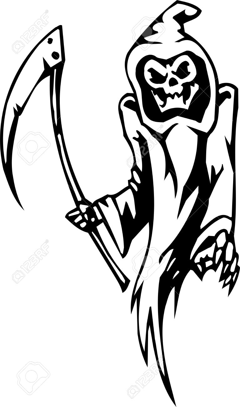 grim reaper cartoon stock photos u0026 pictures royalty free grim