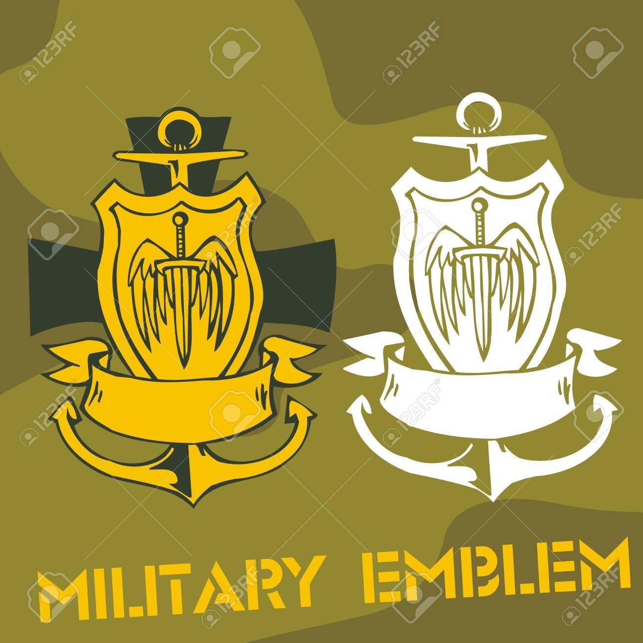 Military Emblem Stock Vector - 16719372