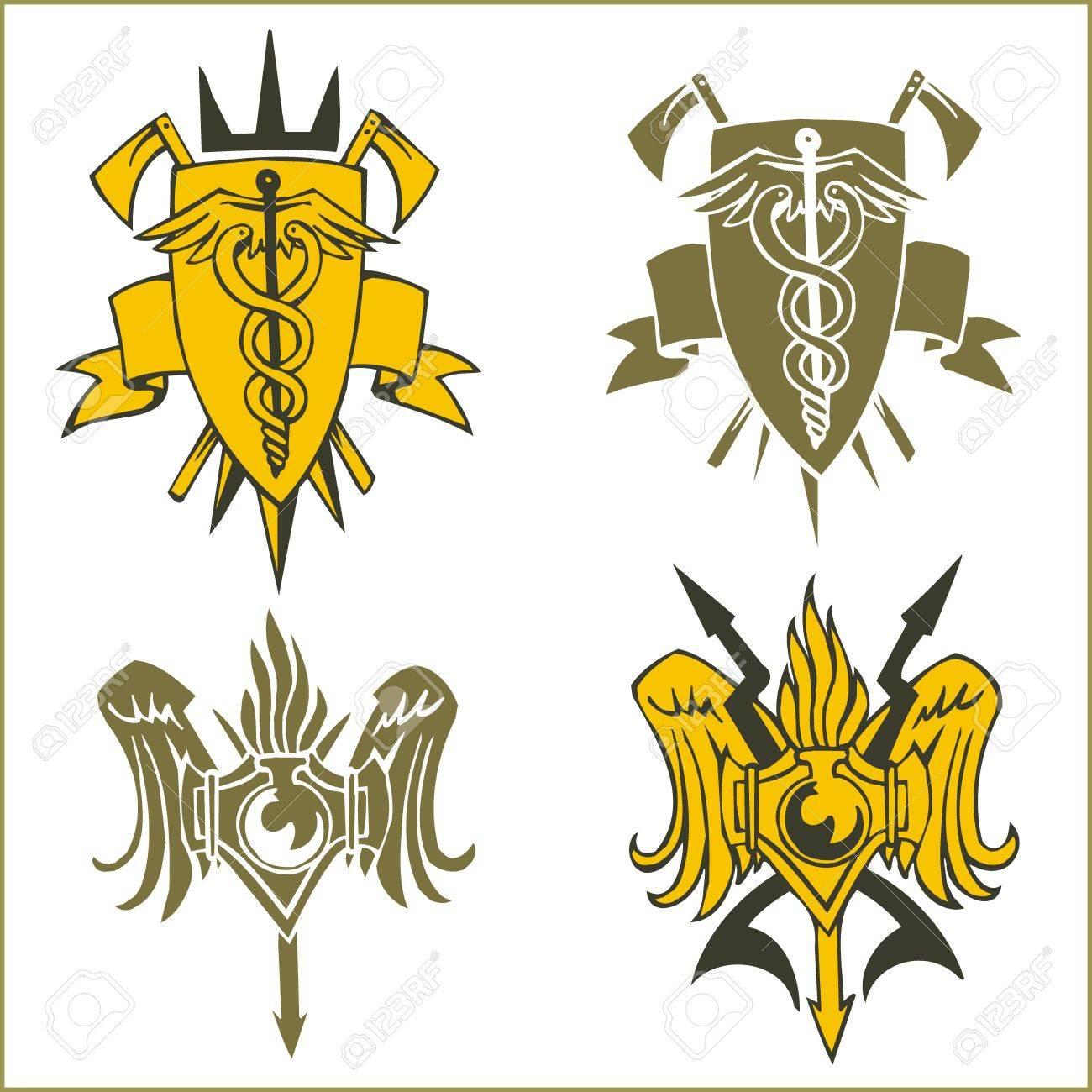 Military Emblem Stock Vector - 16719409