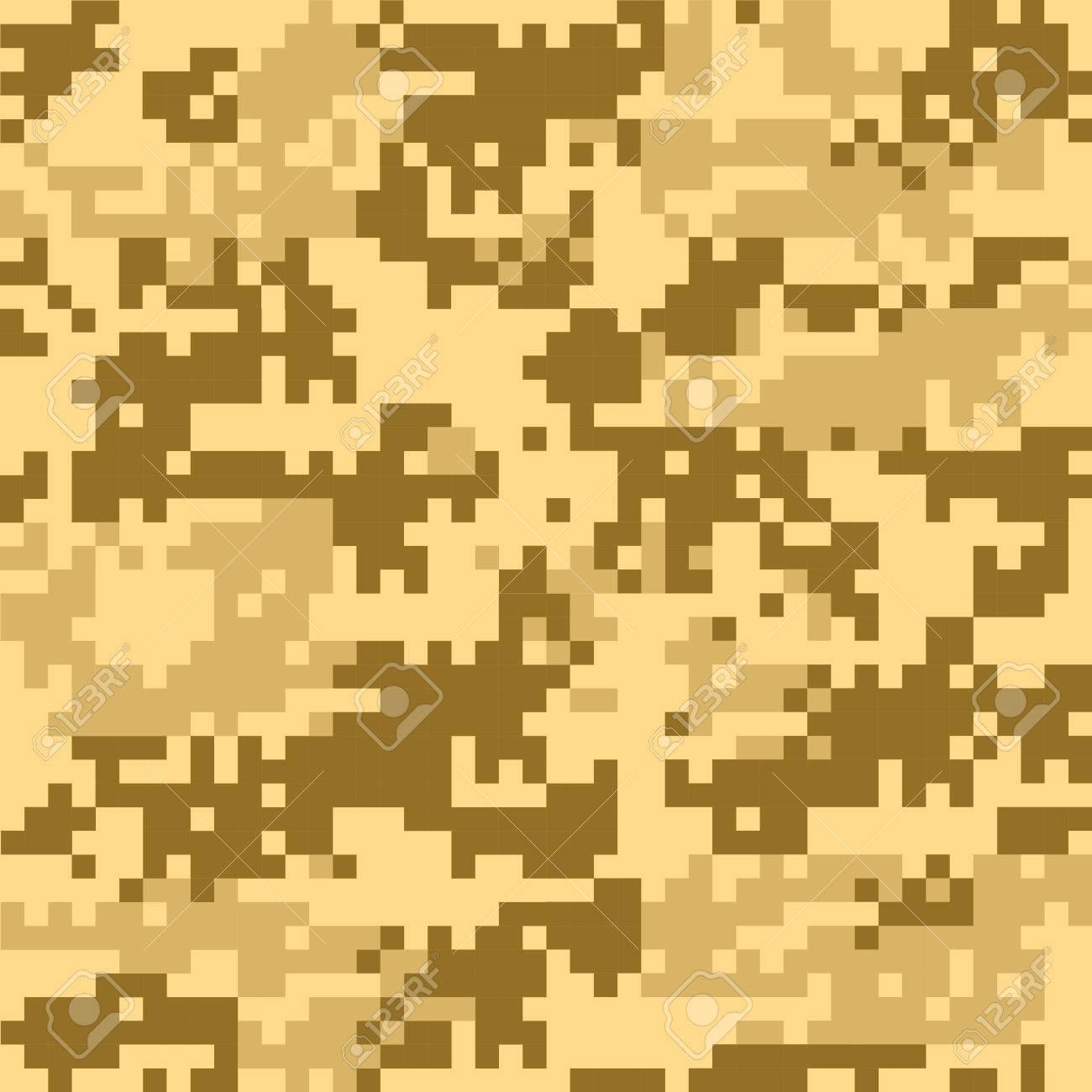 Digital Camouflage Seamless Patterns