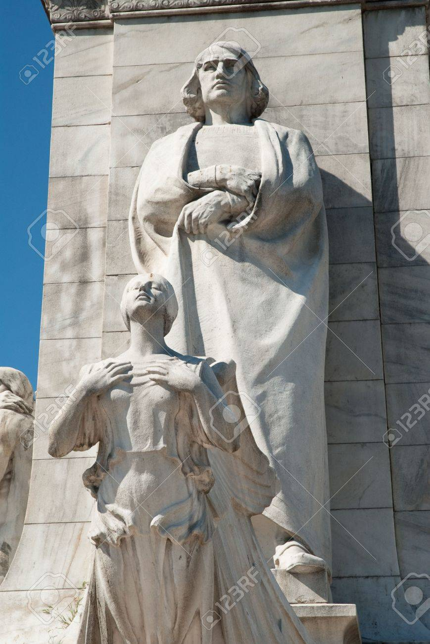 Statue of Christopher Columbus outside of Union Station in Washington, DC Stock Photo - 4920676