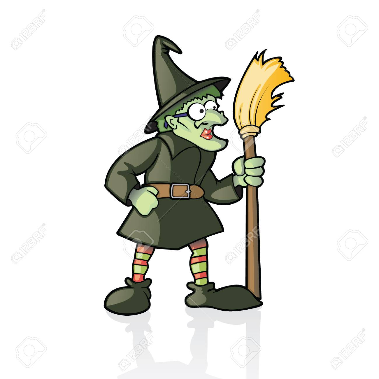 Witch Stock Vector - 6161688