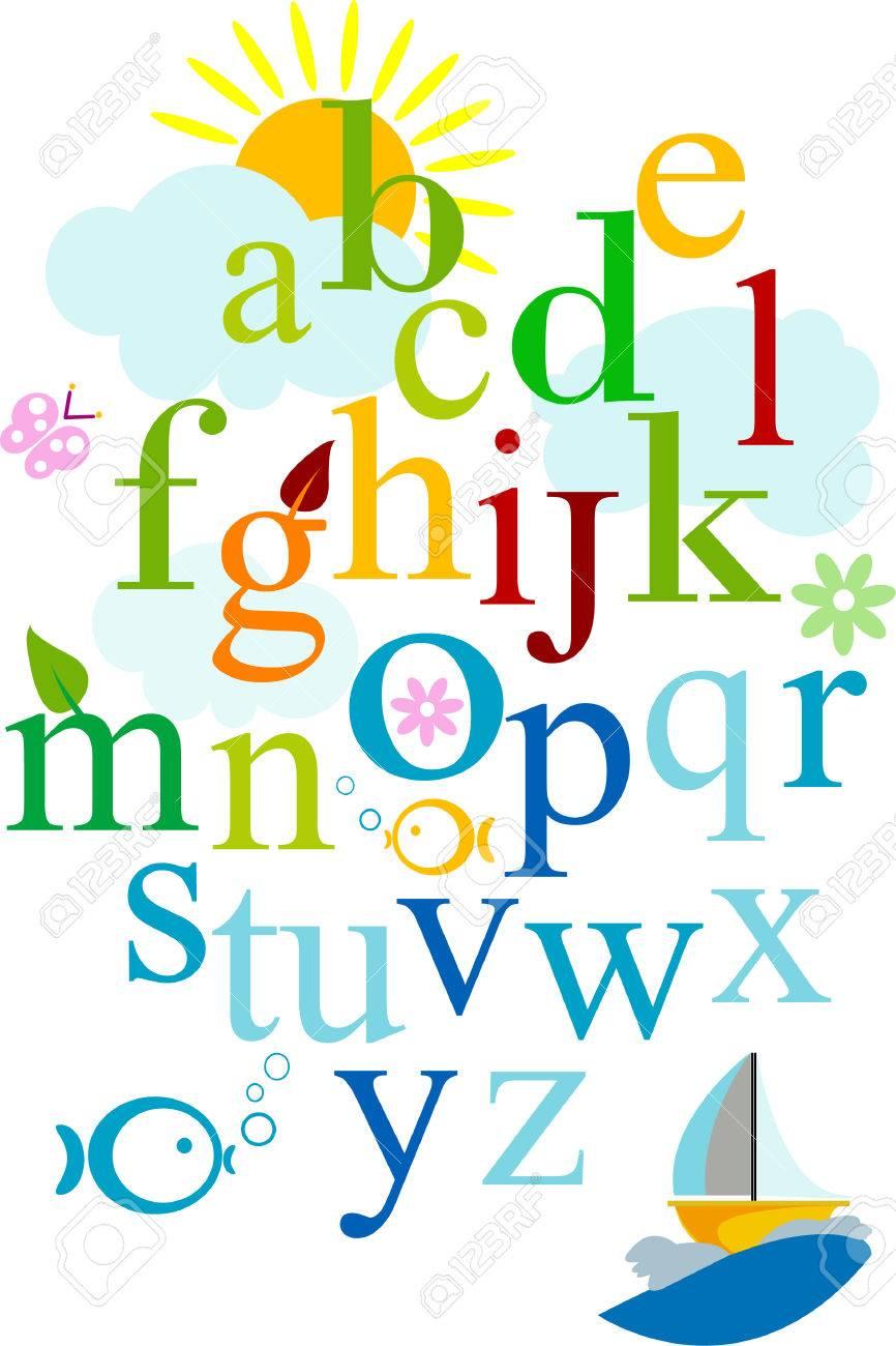 Alphabet Stock Vector - 6345201