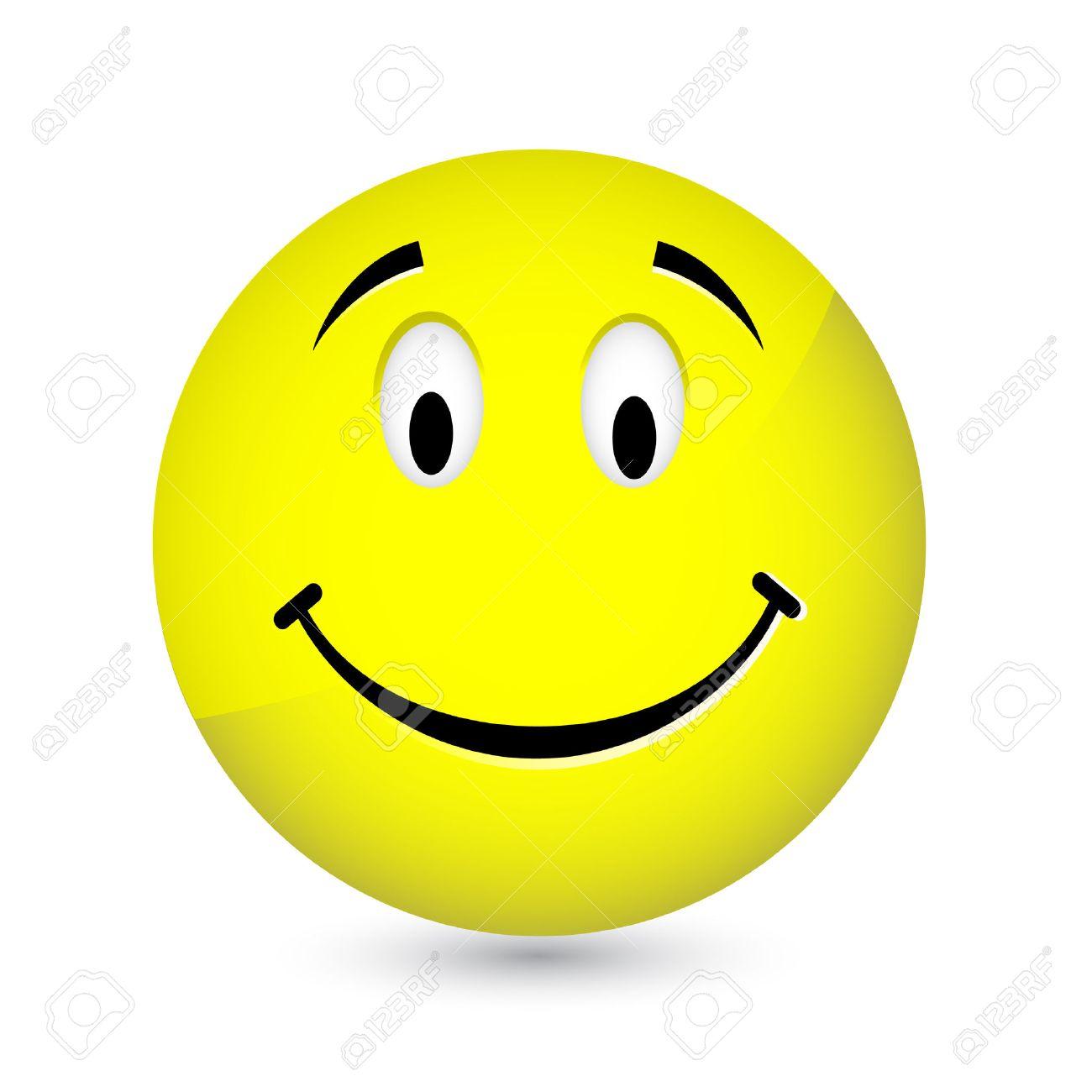 Happy smiley Stock Vector - 8055920