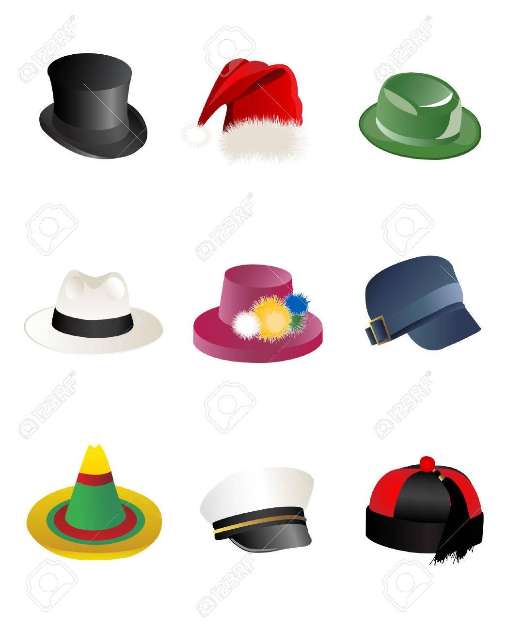 hats Stock Vector - 8076202