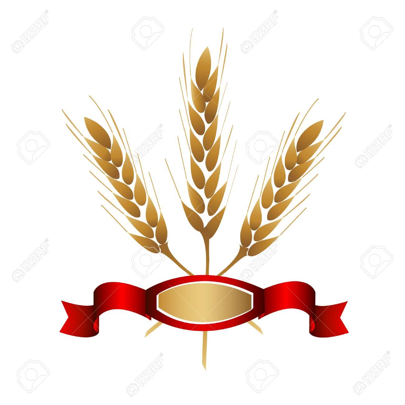 Wheat icon Stock Vector - 8915764