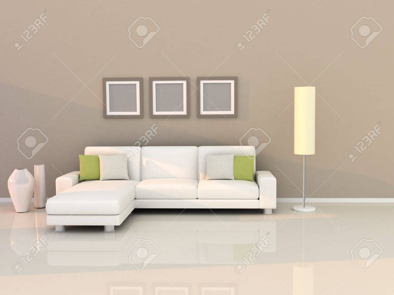 Modern Style Living Room Living Room With Modern Style Stock Photo Picture And Royalty