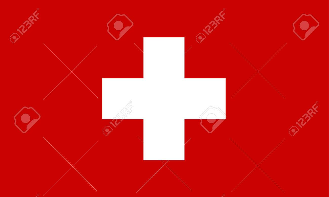 switzerland flag Stock Vector - 8725323