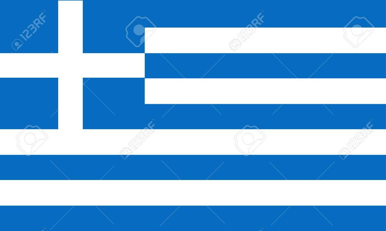 greece flag Stock Vector - 8725380