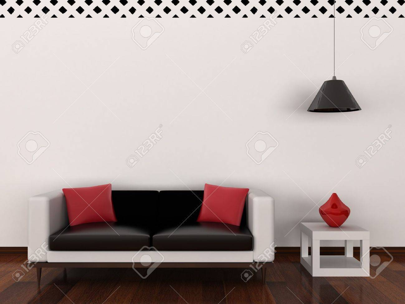 Interior of the modern room Stock Photo - 9870886