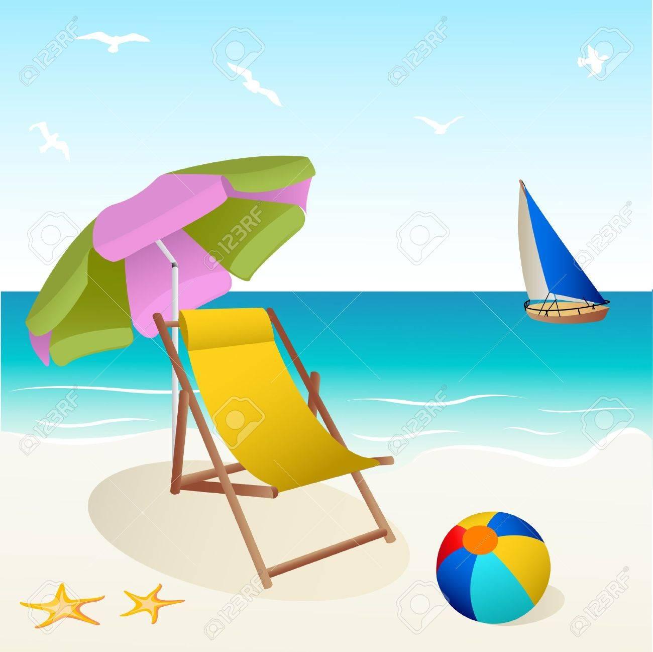 beach Stock Vector - 10001474