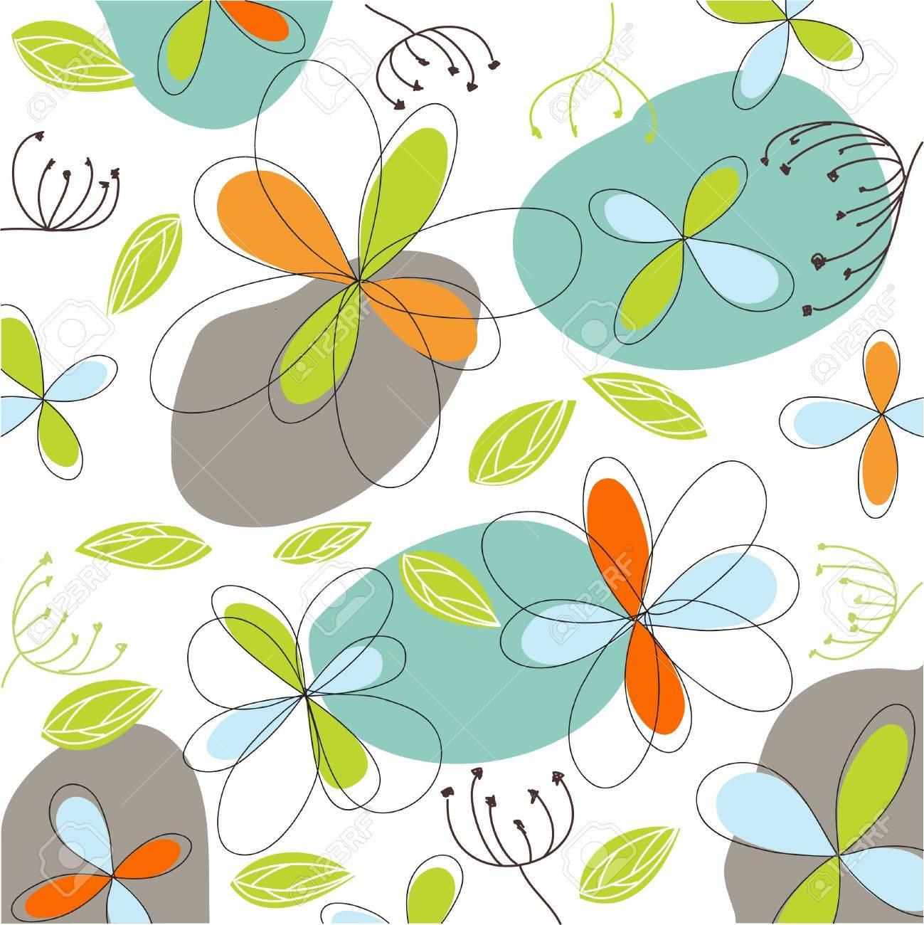 floral, easter card - 12826683
