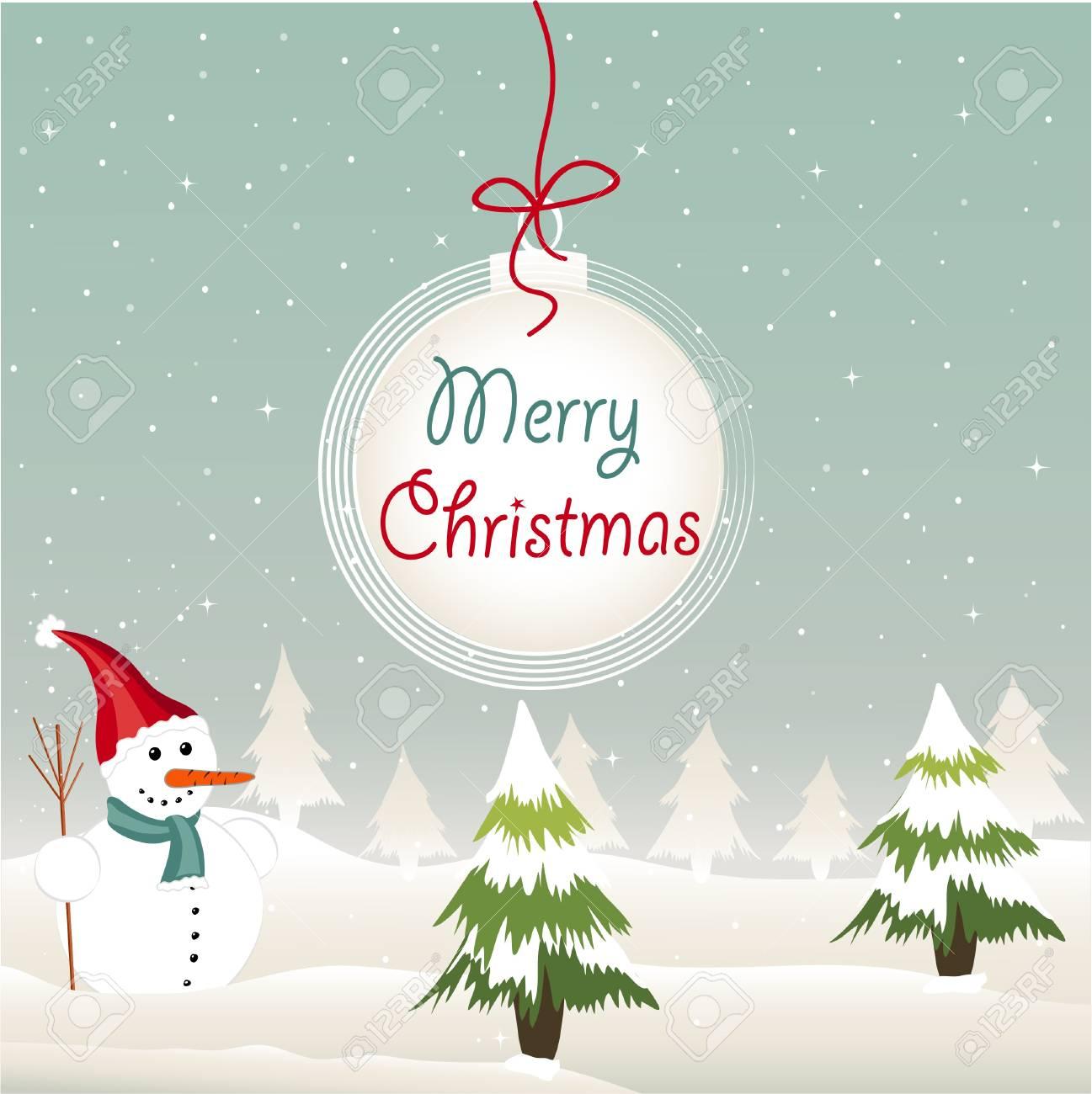 Merry Christmas Stock Vector - 16910828