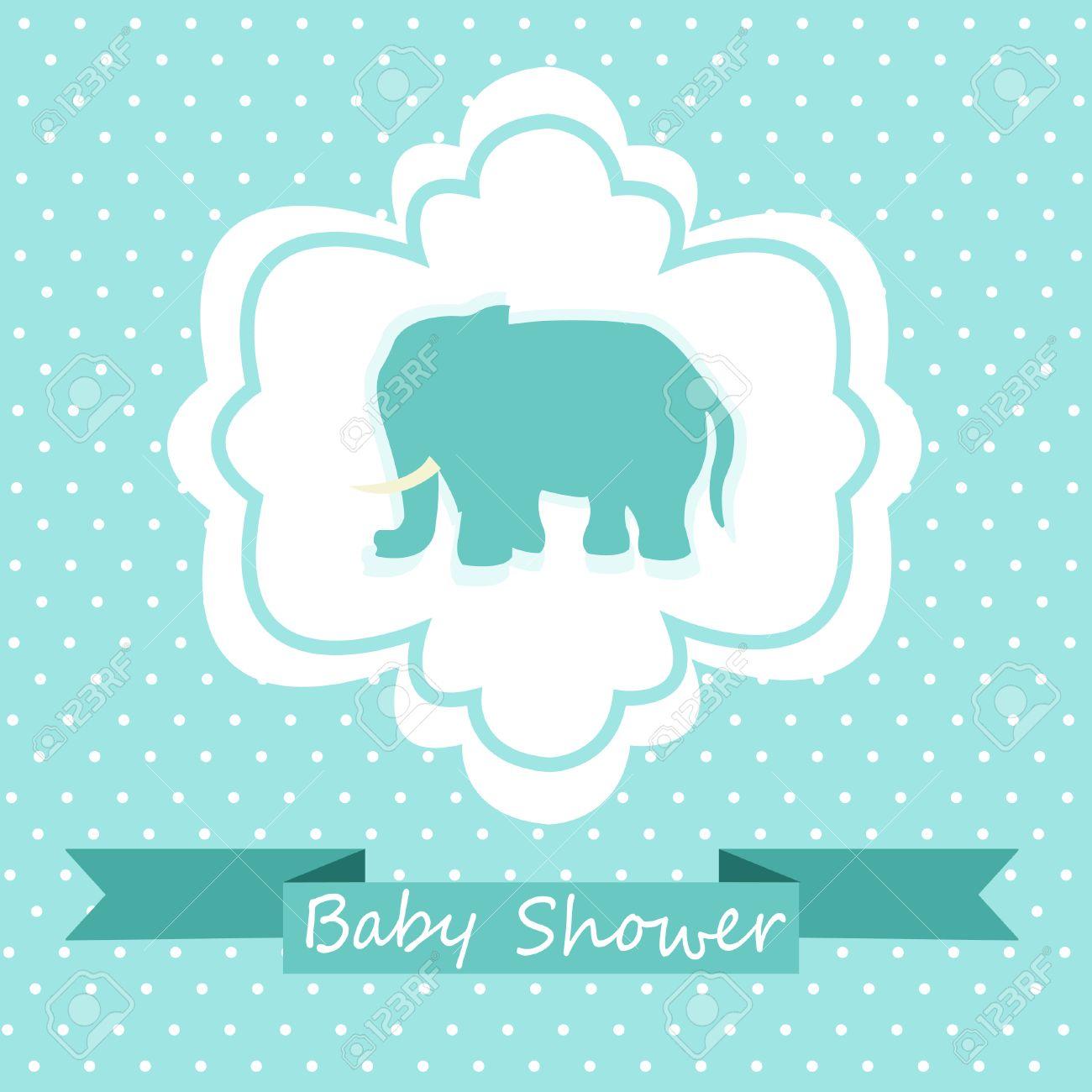 Babyparty Einladung Lizenzfreie Bilder 22765933