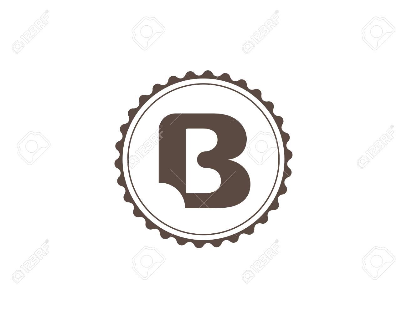 Bakery Logo Template. Letter B. Bite Mark. Universal Icon. Bakery ...