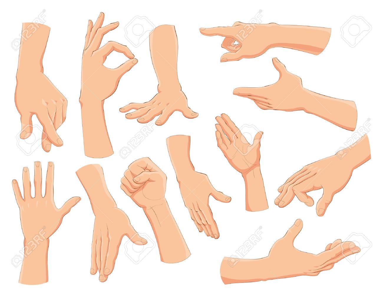 hands vector and cartoon illustration royalty free cliparts rh 123rf com vector handpieces vector handpiece lubricant