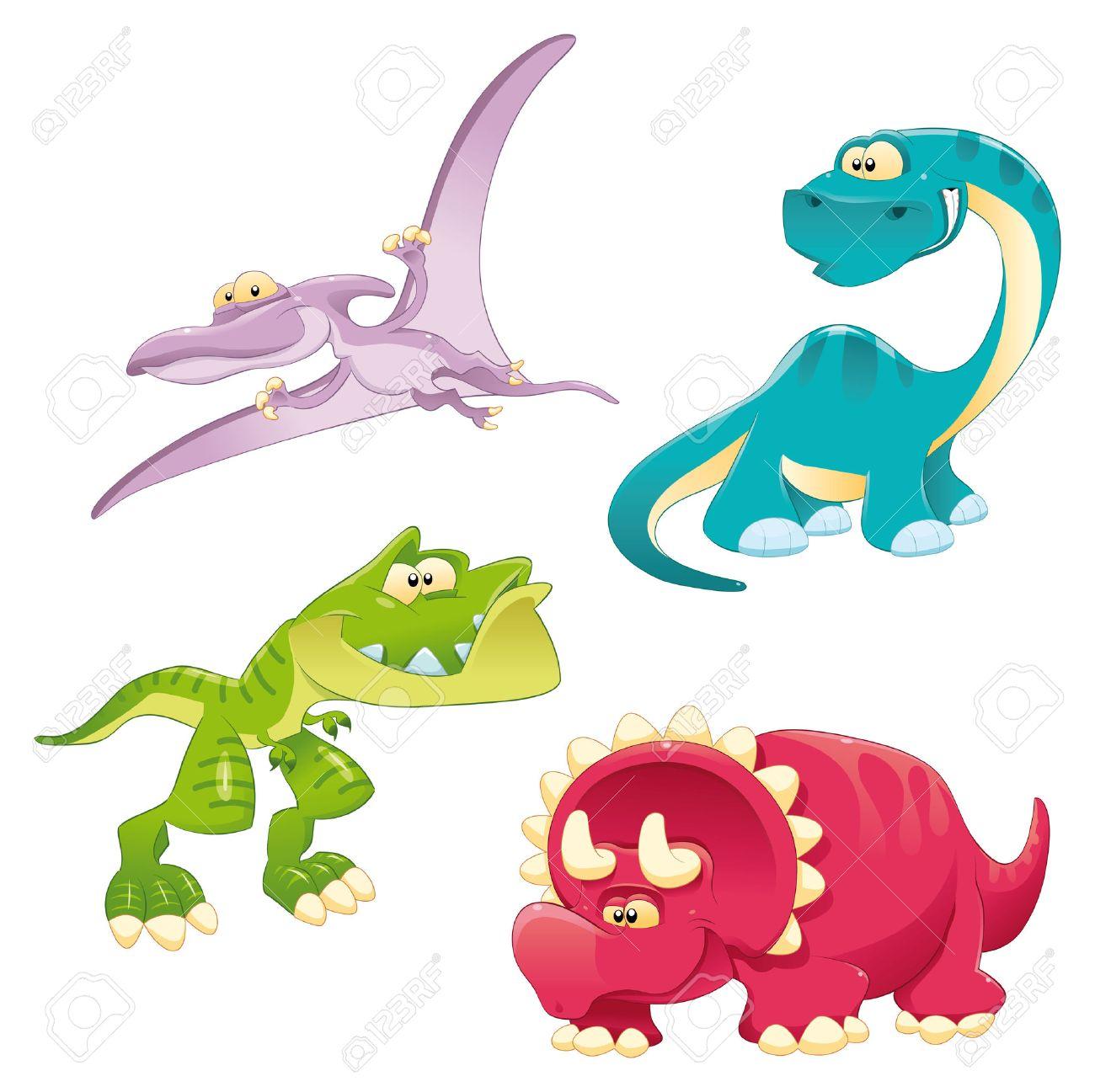 Dinosaurs Family. Stock Vector - 6964498