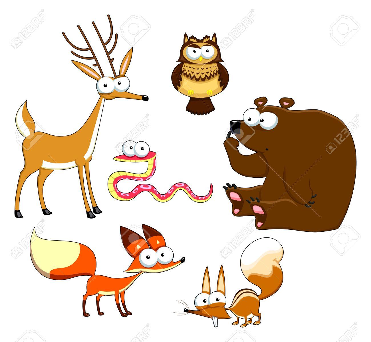 Животные рисунки смешные 4