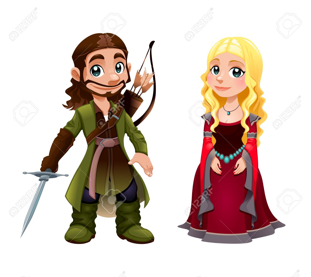 Showing post & media for Medieval princess cartoon | www ...