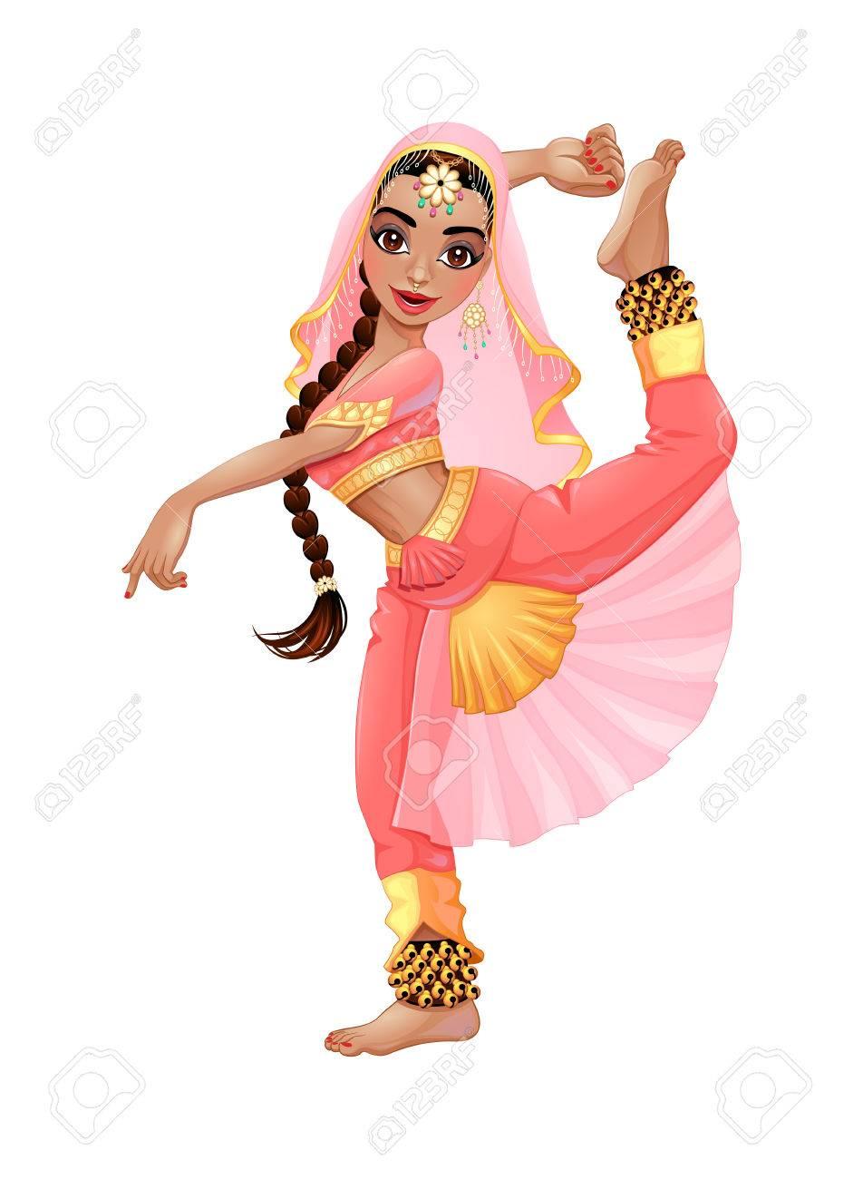 Indian dancer. - 46880246